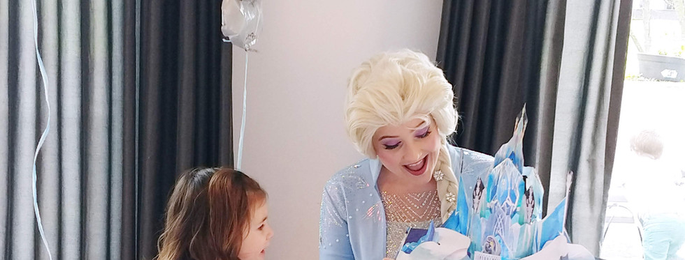 elsa inhuren kinderfeestje prinses