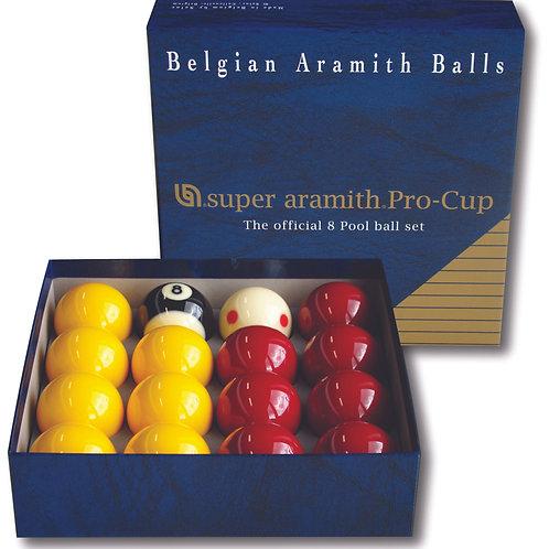ARAMITH - Super Aramith Pro Cup Pool Ball Set