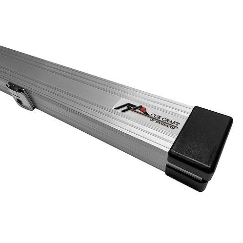 CUECRAFT Silver 1 Piece Aluminium Snooker Cue Case