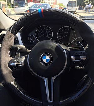 Our F30 Steering installed all the way i
