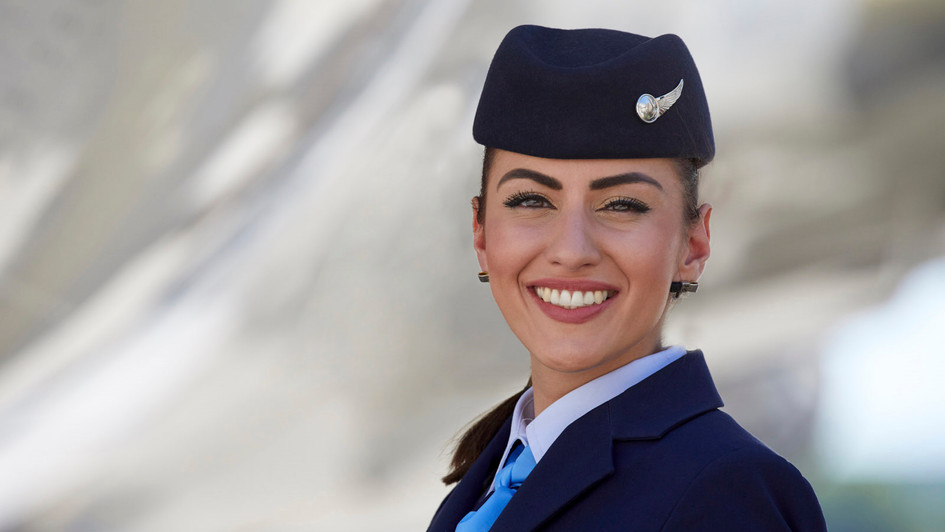 TUIfly Flugbegleiterin