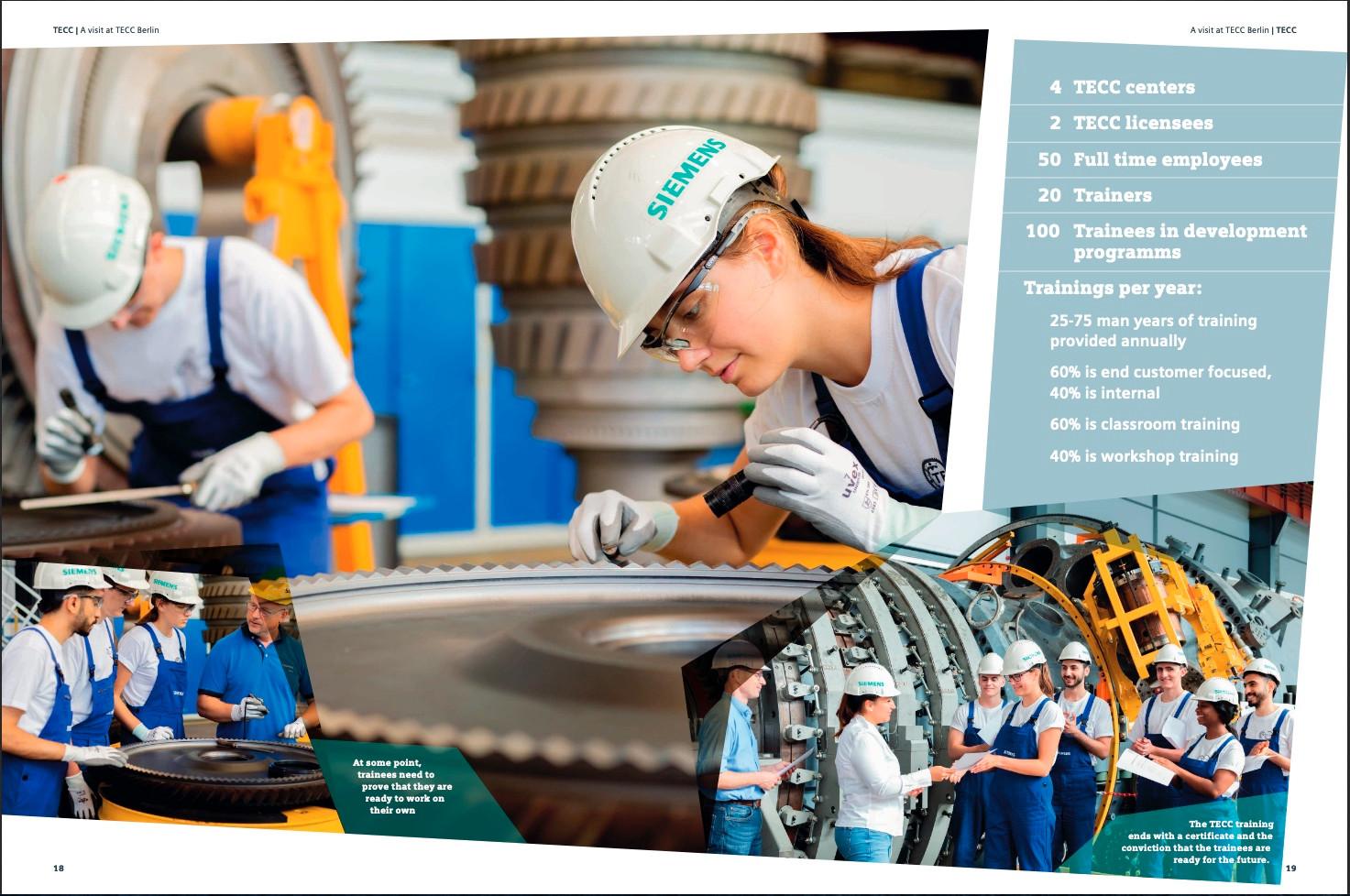 Siemens Ausbildung Broschüre