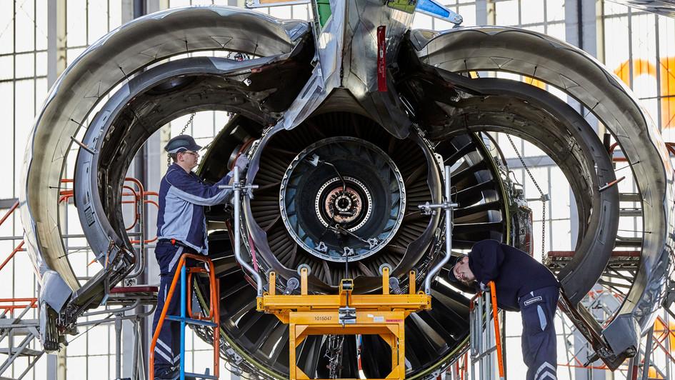 Triebwerk Boeing747/8