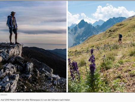 Vom Glück des Wanderns – was ein stern-Reporter erlebte, als er von Hamburg nach Rom ging