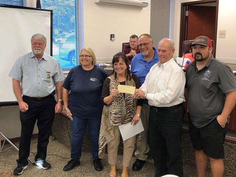 City Council accepts donation for Save Our Park fundraiser