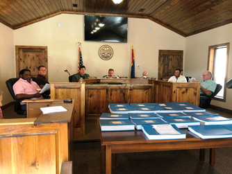 Supervisors receive road projects update; appoint PRCEDD board members