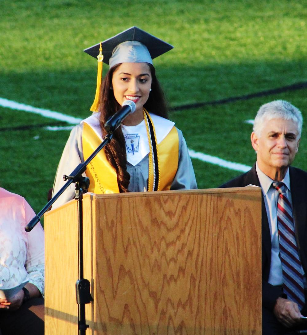 Valedictorian Gelsey Guerra