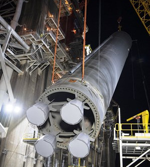 Stennis Space Center - NASA prepares for Space Launch System Green Run testing