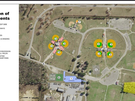 Mayor Jim Luke details upcoming Friendship Park upgrades