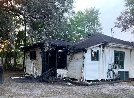 Local law office damaged in Tuesday morning fire