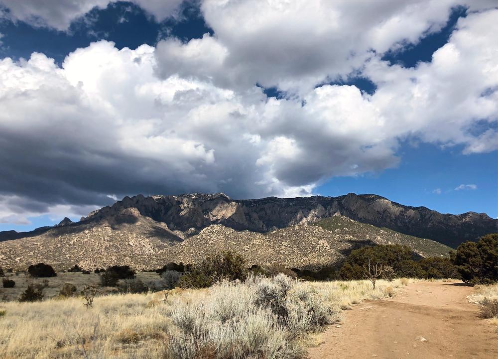 Sandia Mountains in Albuquerque