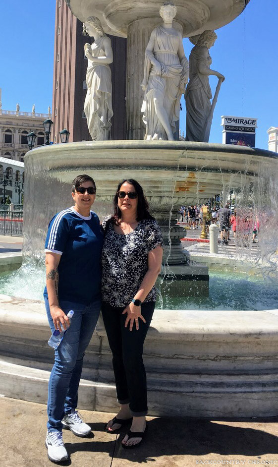 Battling chronic pain on vacation in Las Vegas