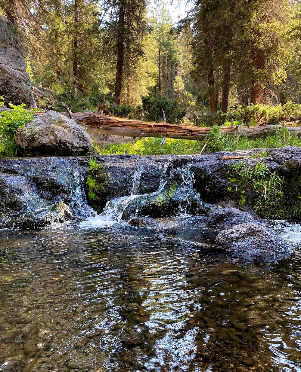 East Fork Jemez River waterfall