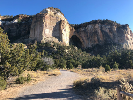 New Mexico's La Ventana Natural Arch