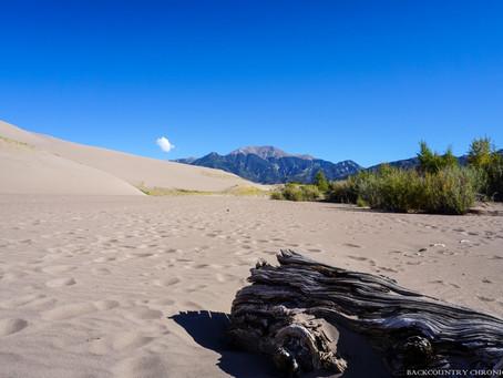 Camping at Great Sand Dunes National Park - Pinon Flats Campground