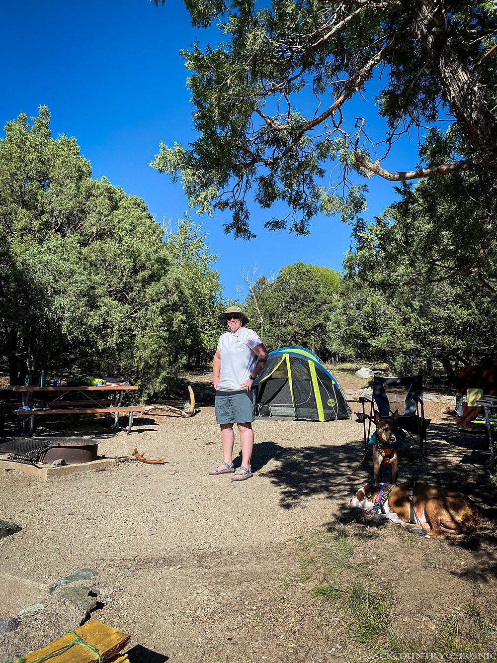 Camping at Pinon Flats in Great Sand Dunes National Park