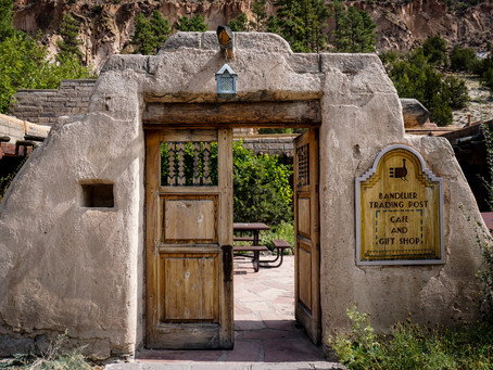 Climbing into the Past - Bandelier National Monument