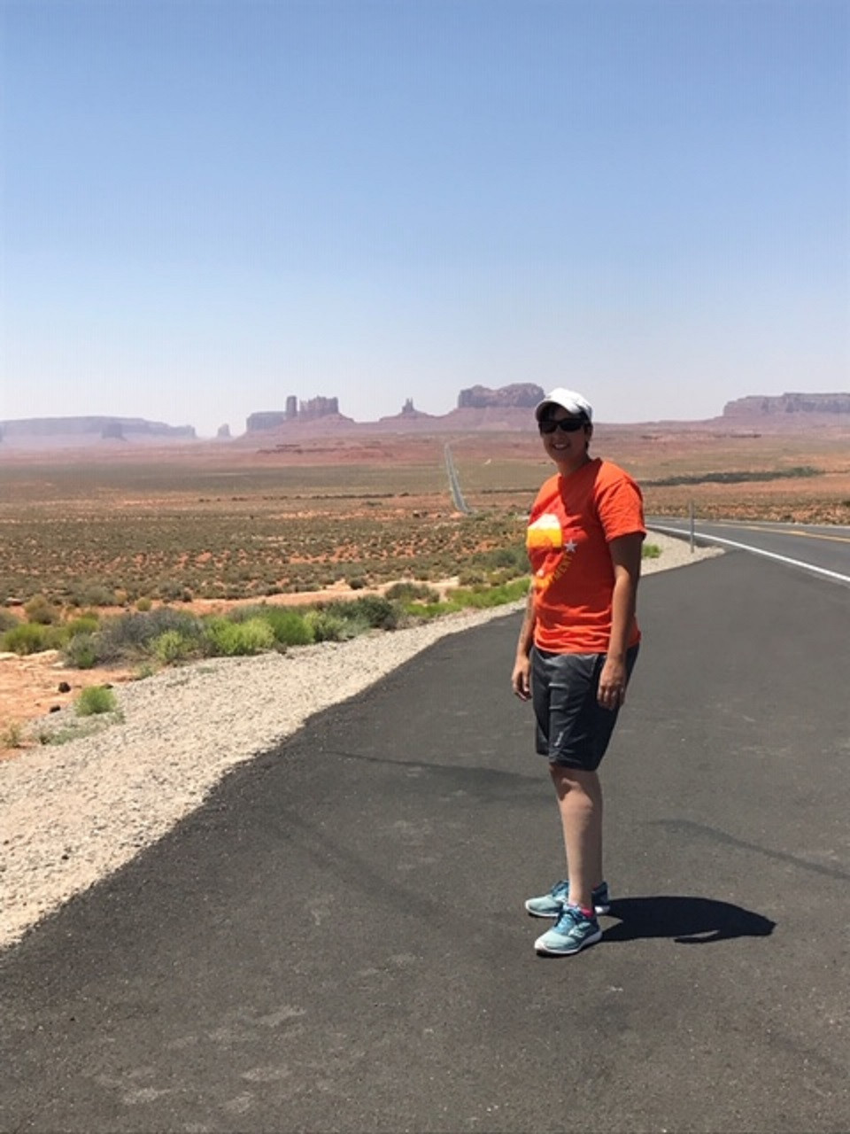 Monument Valley during a road trip through southern Utah