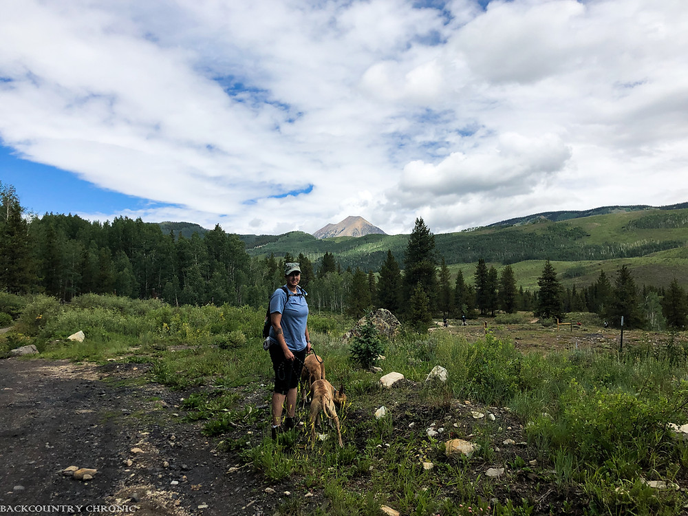 Hiking Colorado trails for physical exercise
