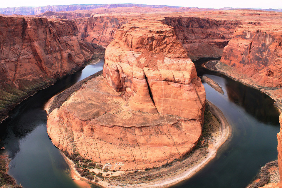 Horseshoe Bend, one early morning in May.