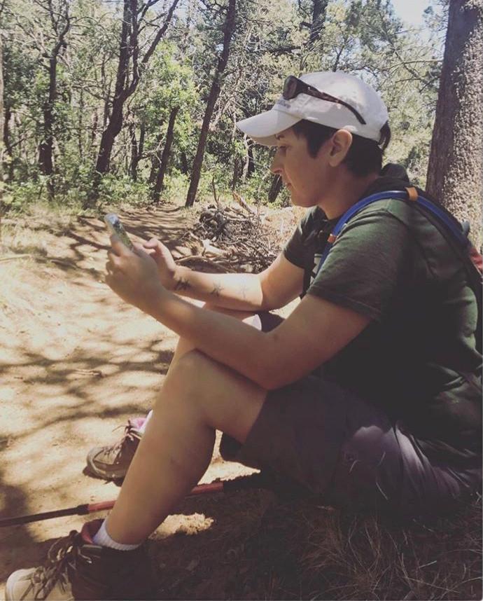 Hiking with trekking poles and Ankylosing Spondylitis