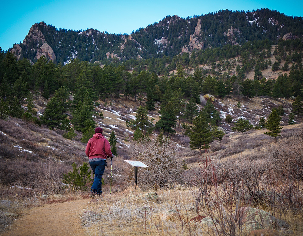 Hiking with a disability