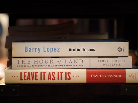 Reading the Outdoors - Books by Three Big Names in Nature Writing