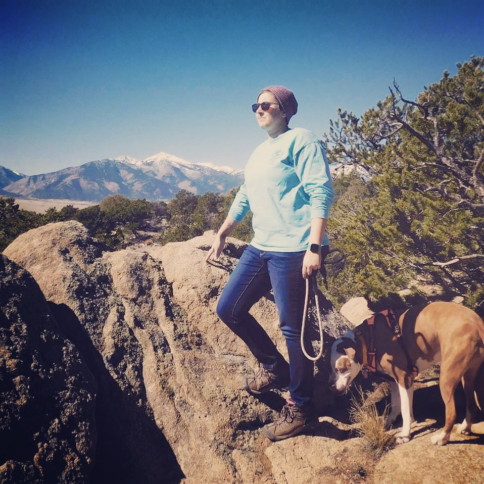 Outdoor goals for 2020 involves more mountain camping, hiking, and getting outdoors more with the dogs.