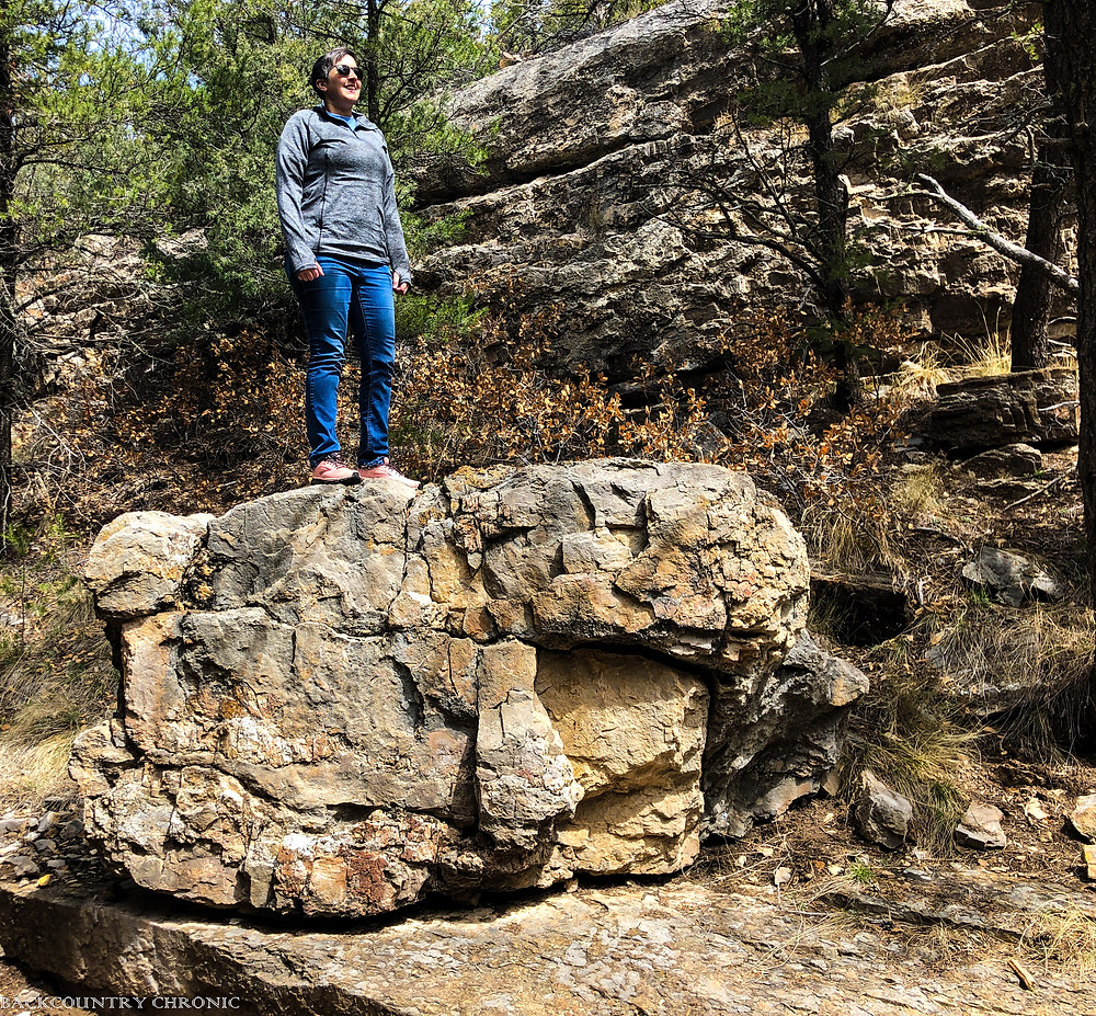 Along a hiking trail with Ankylosing Spondylitis