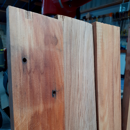 Working with reclaimed timber