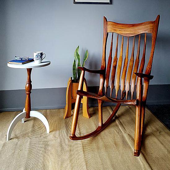 Sculptured Rocking Chair