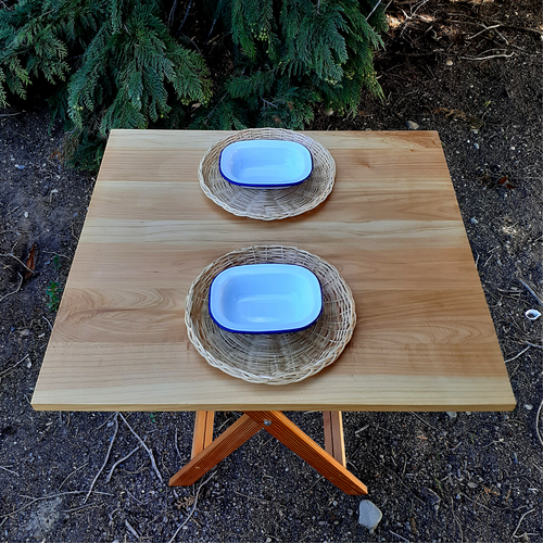Folding Camp Table | Dinner for two