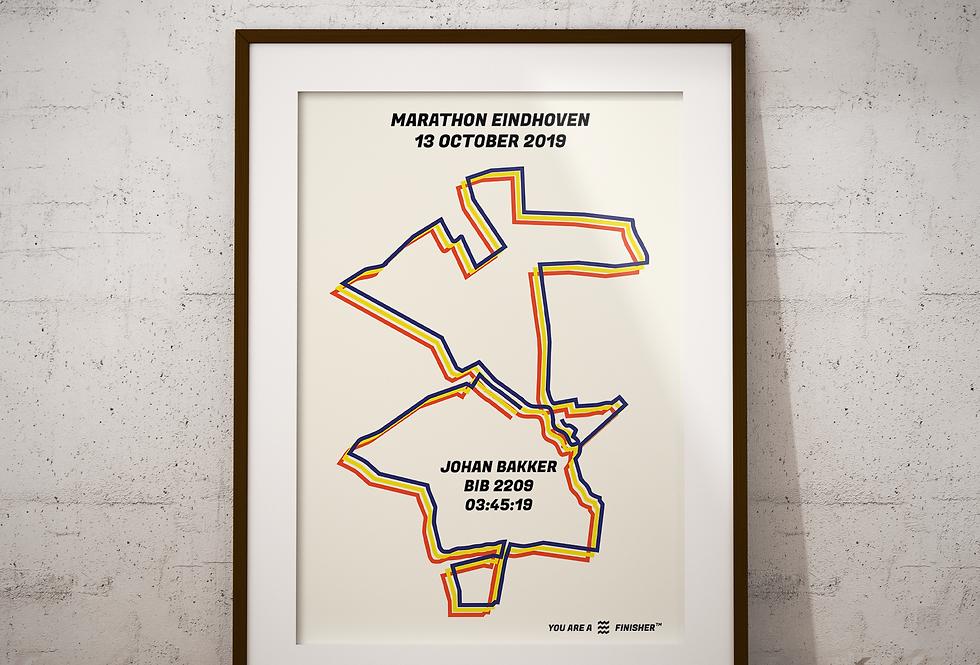 """Marathon Eindhoven 2019 - """"Bauhaus"""""""