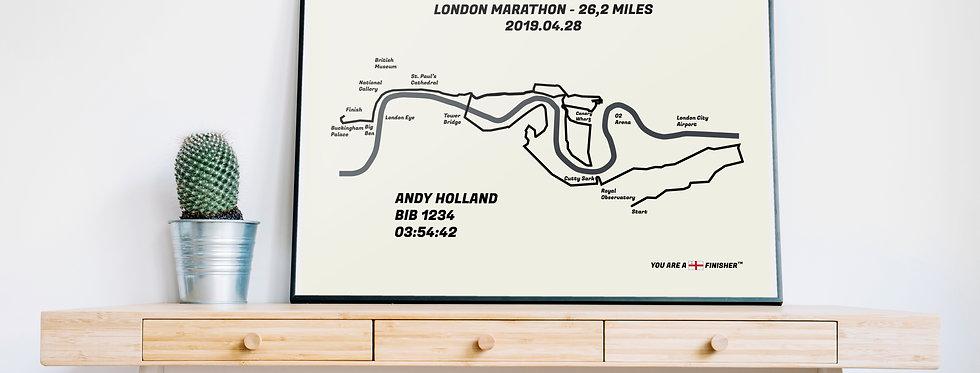 """London Marathon 2019 - """"Retro"""""""