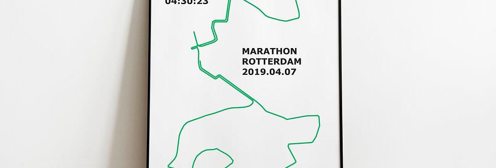 """Marathon Rotterdam 2019 - """"Stronger through effort"""""""