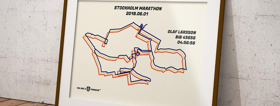 "Stockholm Marathon 2019 - ""Bauhaus"""
