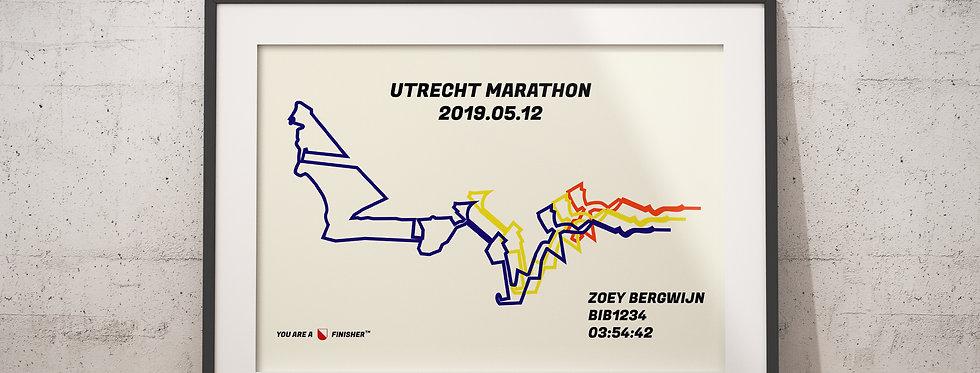 """Utrecht Marathon 2019 - """"Bauhaus 3 Layer"""""""