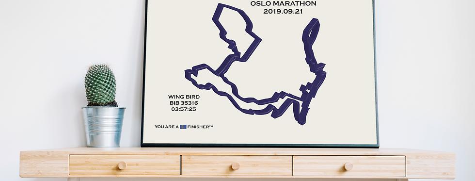 """Oslo Marathon 2019 - """"Calli"""""""