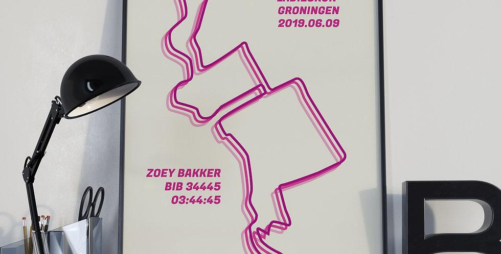 "Ladiesrun Groningen 2019 - ""Triple Pink"""