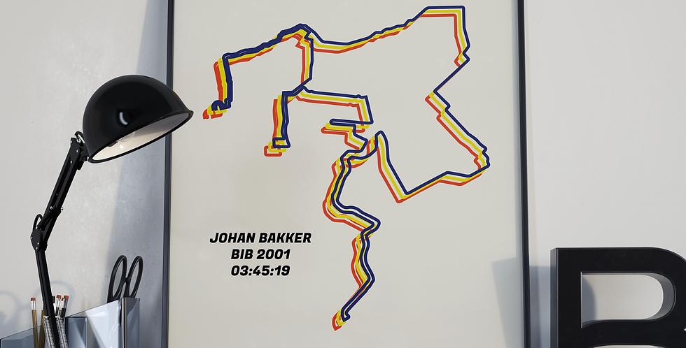 "Amsterdam Marathon 2019 - ""Bauhaus"""