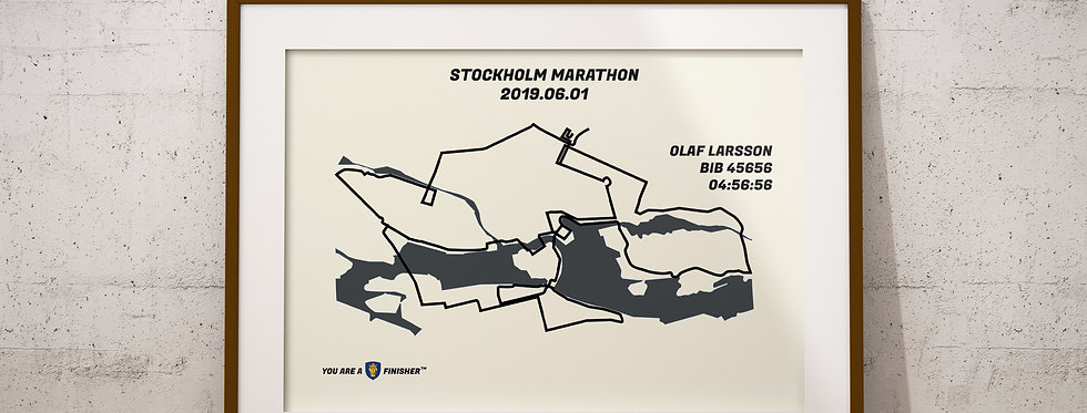 """Stockholm Marathon 2019 - """"Retro"""""""