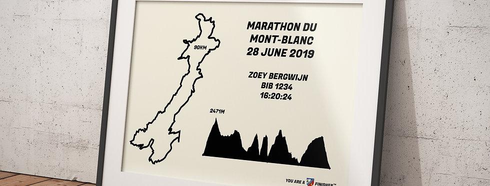 """Marathon du Mont-Blanc 2019 - """"Retro"""""""
