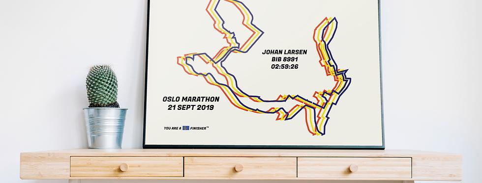 "Oslo Marathon 2019 - ""Bauhaus"""
