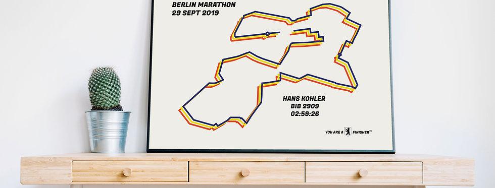 "Berlin Marathon 2019 - ""Bauhaus"""