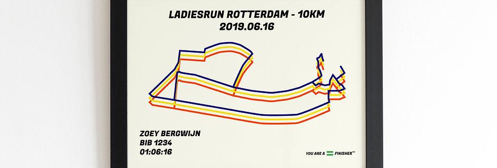 """Ladiesrun Rotterdam 2019 - """"Bauhaus"""""""