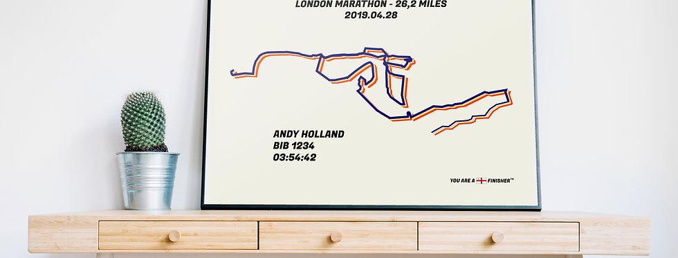 """London Marathon 2019 - """"Bauhaus"""""""