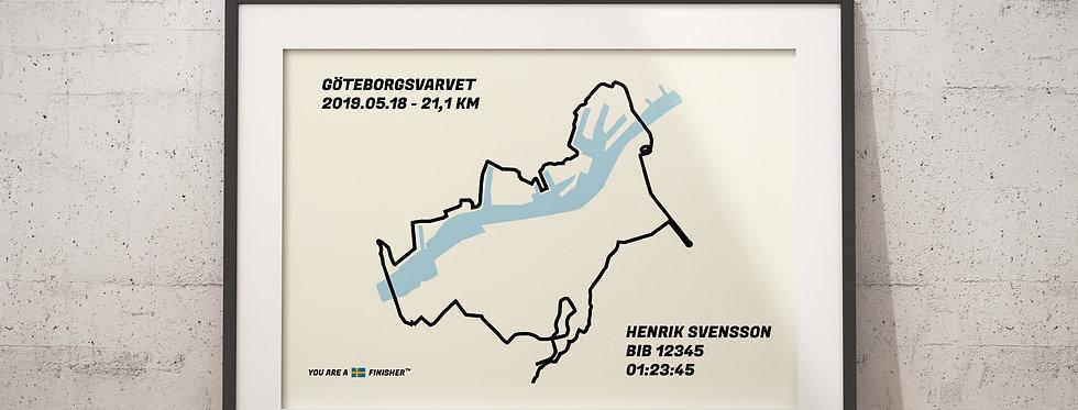"Göteborgsvarvet 2019 - ""Bluewater"""