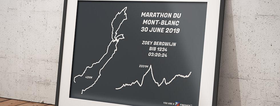 "Marathon du Mont-Blanc 2019 - ""Retro Gray"""