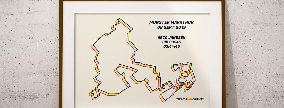 """Münster Marathon 2019 -""""Bauhaus"""""""