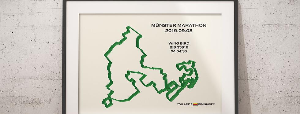 """Münster Marathon 2019 -""""Calli"""""""